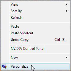 Choose Personalize